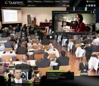 Businessfactors Webseite : IT-Referenz der Internetagentur Code Alliance aus Berlin