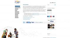 Fete De la Musique Screenshot der Webseite