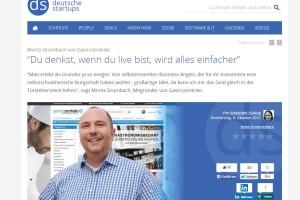 Moritz Gumbach von Gastrozentrale im Interview mit deutsche-startups.de